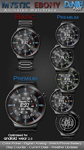 Mystic Ebony HD Watch Face Widget & Live Wallpaper 5.1.0