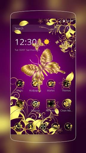 ゴールデンフラワー蝶