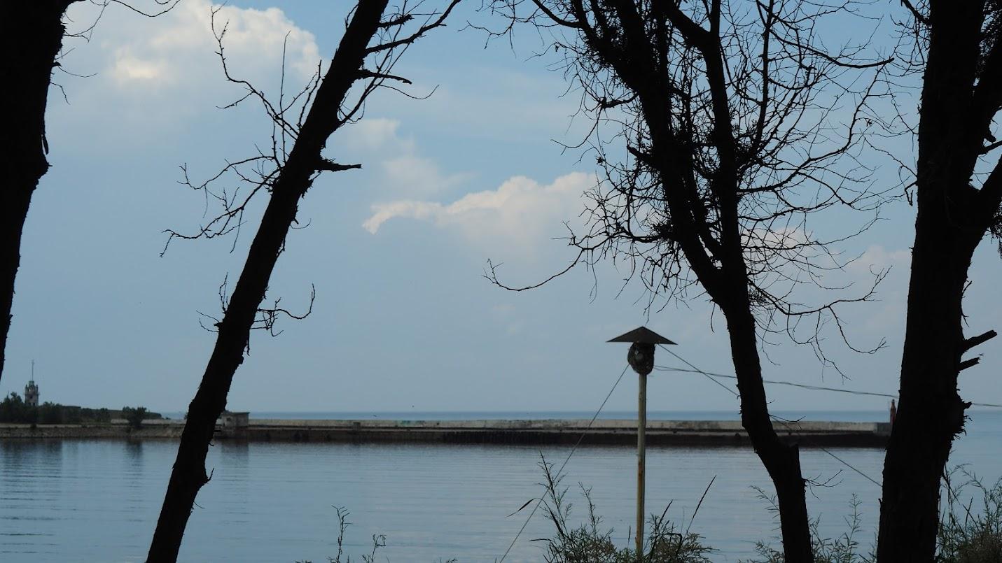 Черное море в Черноморском. Крым. Июнь 2015