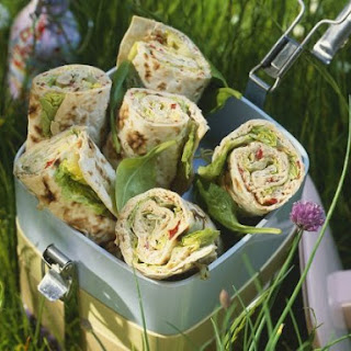 Spinach Tortilla Wraps