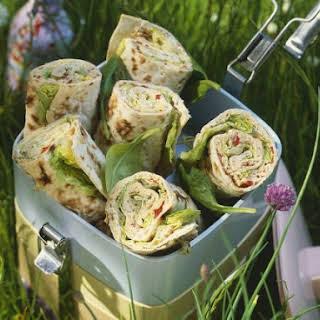 Spinach Tortilla Wraps Recipes.