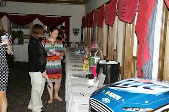 Photo: Silent Auction & Dinner for the Varsity Club Golf Tournament.