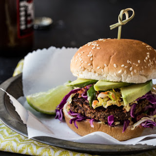 Jamaican Jerk Veggie Burgers.