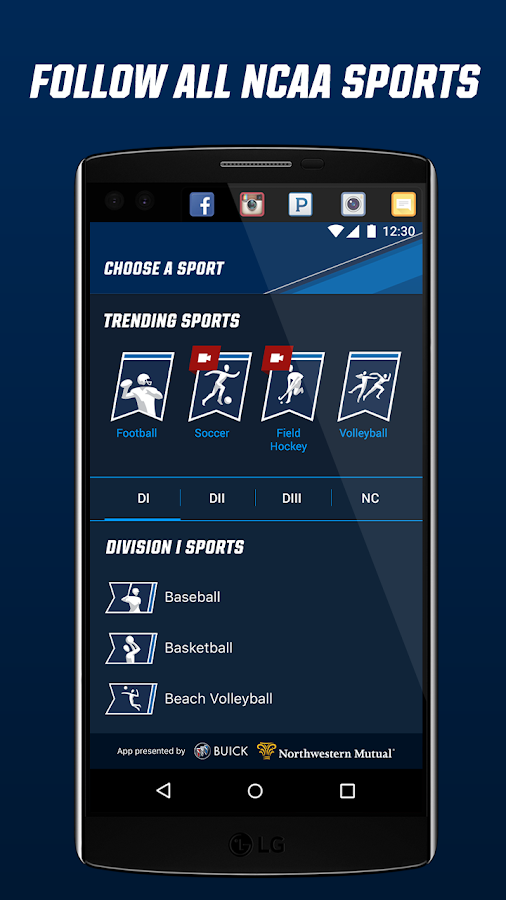 NCAA Sports- screenshot