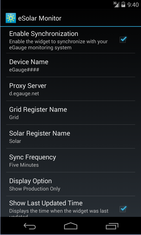 Скриншот eSolar Monitor Discontinued