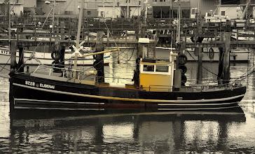Photo: boat in bluff port