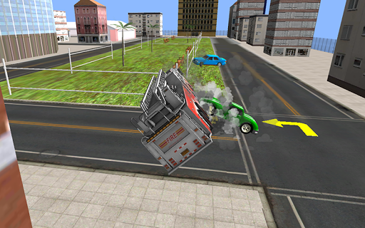 Fire Fighter Truck Rescue 3D