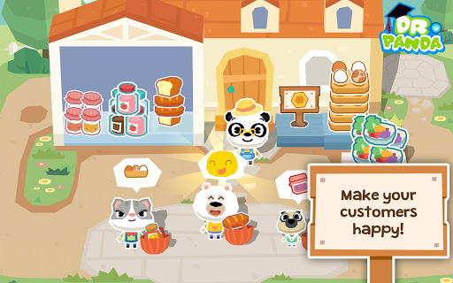 لالروبوت Dr. Panda Farm تطبيقات screenshot