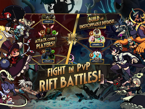 Skullgirls: Fighting RPG apkslow screenshots 11