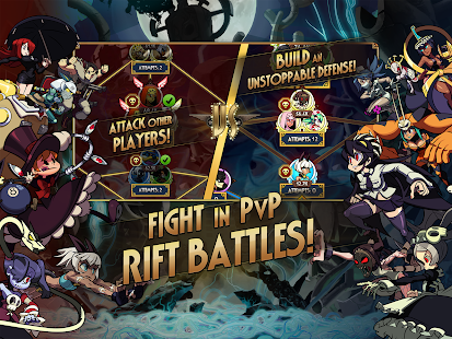 Skullgirls: Fighting RPG Screenshot