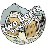 Logo of Two Beers Crooked Belgian-wit