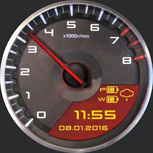 GT-R R35 watch face