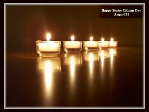 Photo: Happy Senior Citizens Day ~ August 21   ''You are the light of the world.'' Matthew 5:14a ESV  Read more at https://www.biblegateway.com/passage/?search=Matthew+5&version=ESV#6DeZs32MEQe4jTqa.99  Matthew 5 ESV Audio;https://www.biblegateway.com/audio/mclean/esv/Matt.5