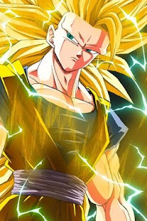 Super Saiyan 3 Wallpaper Offline - náhled