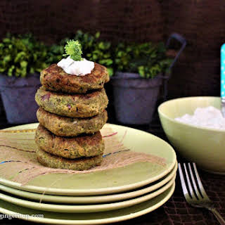Broccoli Spinach Fritters.