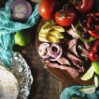 Grilled Flat Iron Steak Tacos