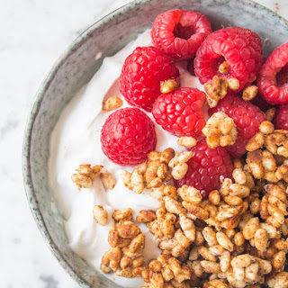 Almond and Honey Breakfast Puffs.