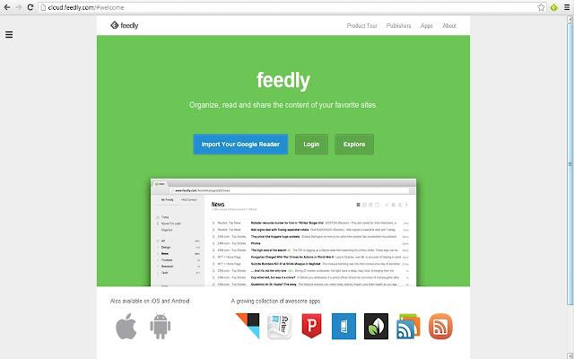 Feedly Cloud Access Beta