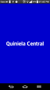 Quiniela Central - náhled