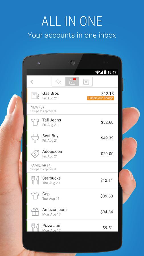 BillGuard - Money & ID Tracker- screenshot