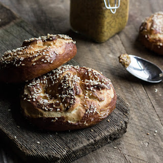 Sesame and Sea Salt Pretzels