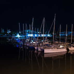 Private yachts 2 by Mark Luyt - Transportation Boats ( yachts, moored, reflections, boats, water )