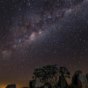 Milkyway by Tony Wilson - Landscapes Starscapes ( winter stars, milkyway, lydenberg, long tom pass, mpumalanga )