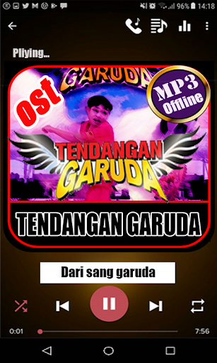 Ost Tendangan Garuda Offline 1.0 screenshots 4