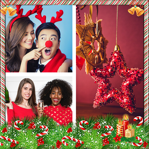 Christmas Picture Collage Maker Icon