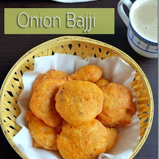 ONION BAJJI | VENGAYA BAJJI – SNACKS RECIPES