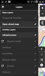 Cycling Map Lublin- screenshot thumbnail