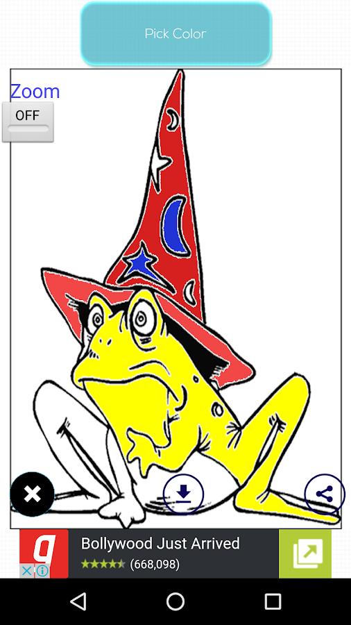 fantasy coloring book screenshot - Fantasy Coloring Book