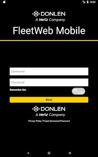 FleetWeb - náhled