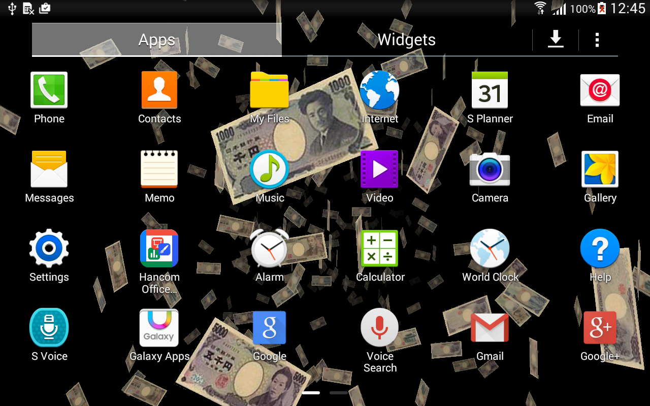 money 3d live wallpaper full android apps on google play
