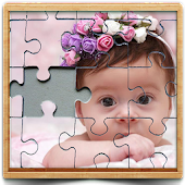 cute baby photo Jigsaw puzzle game