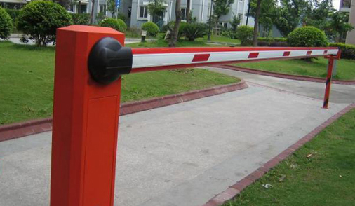 Thanh chắn cần thẳng là loại được sử dụng nhiều nhất tại các bãi đỗ xe