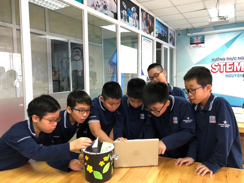 7 bước thiết kế chủ đề hoạt động STEM học đường