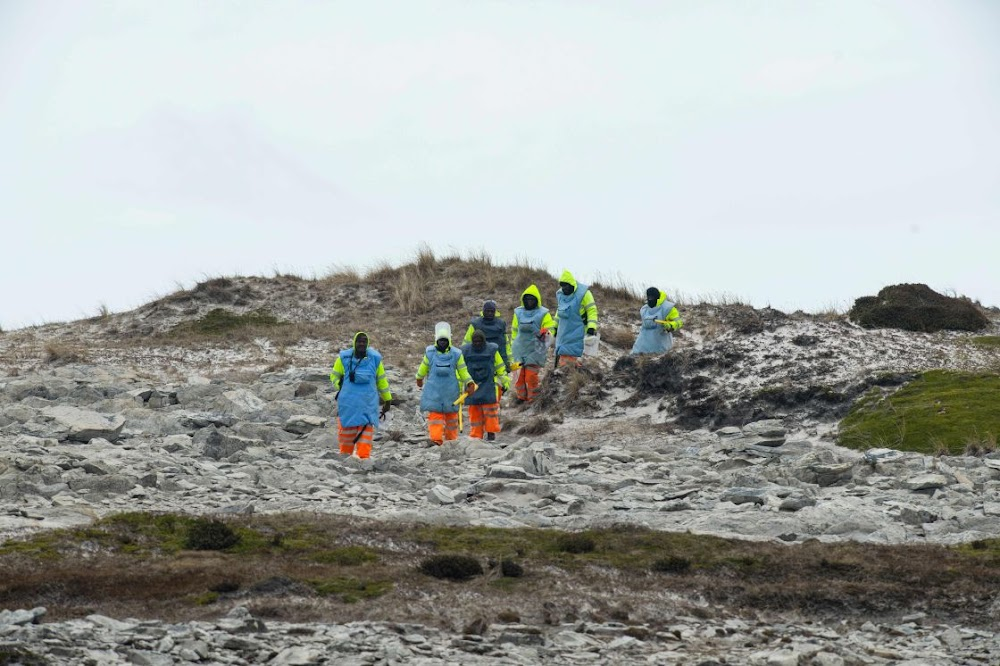 Zimbabwean deminers help make Falklands Islands safe
