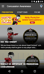 Concussion Awareness- screenshot thumbnail