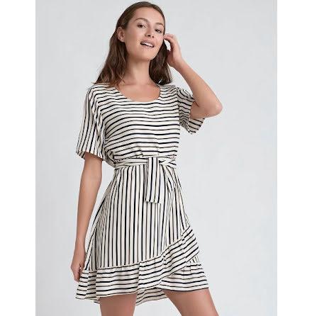 Bia Dress, Stripe - Dry Lake