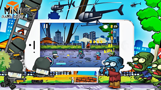 ゾンビ攻撃2対警察|玩街機App免費|玩APPs