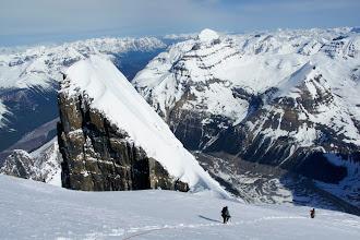 Photo: Descending North Twin.