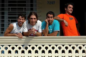 Photo: punto y coma. cuban comedians. Tracey Eaton photo.