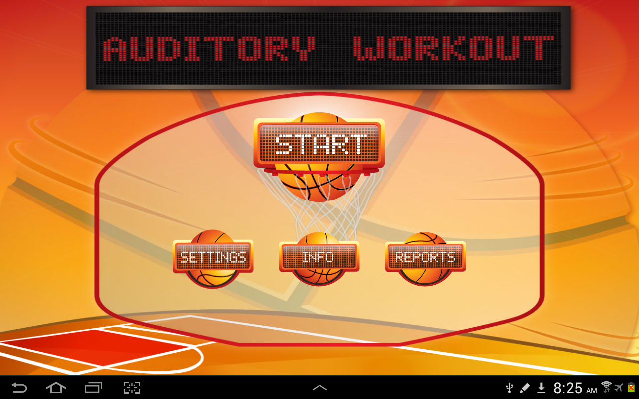 Auditory Workout- screenshot