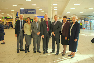 Photo: With Airport Chaplains and Airport and Airline Staff