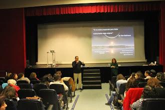 Photo: Presentación de taller de creatividad con Carmen Garrido