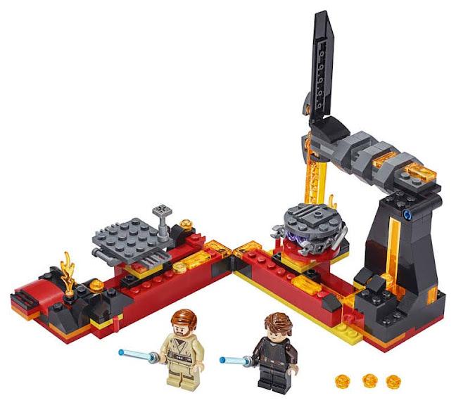 Contenido de Lego® 75269 Duelo en Mustafar™