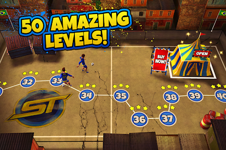 SkillTwins Football Game screenshot