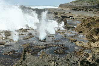 Photo: Pomene. Blow Holes