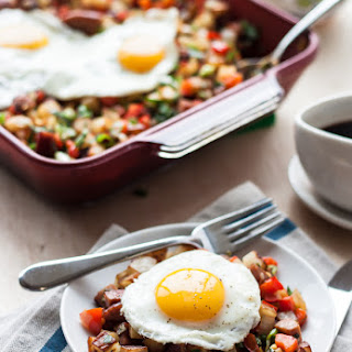 Potato Kielbasa Breakfast Hash